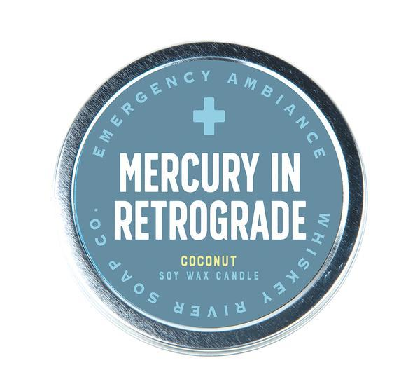 WHISKEY RIVER SOAP CO - Mercury In Retrograde Emergency Ambience Travel Tin