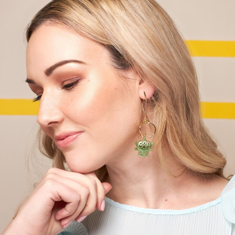 COUTURE KINGDOM x Disney Toy Story Crystal Alien Claw Drop Earrings