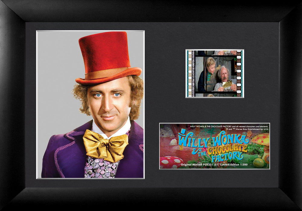 WILLY WONKA & THE CHOCOLATE FACTORY - Single Film Cell
