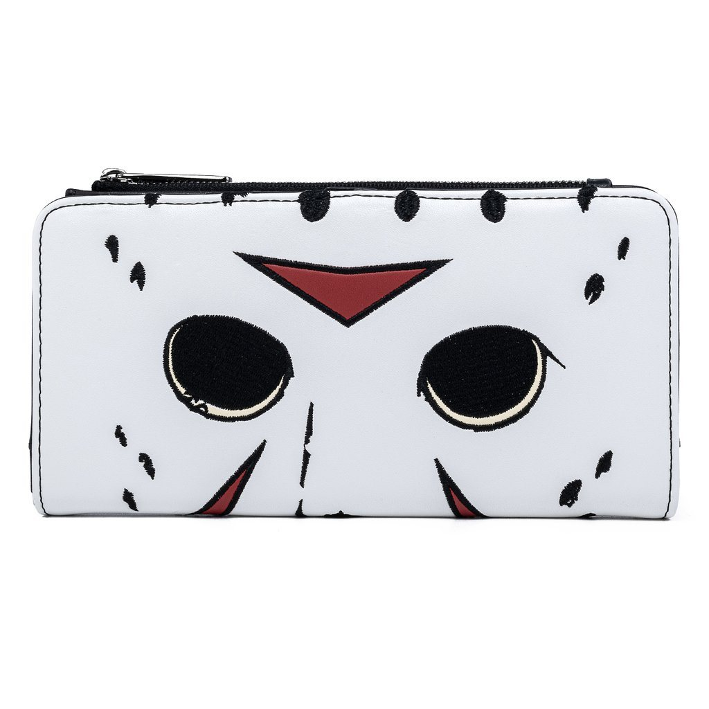 LOUNGEFLY x FRIDAY THE 13th Jason Mask Wallet