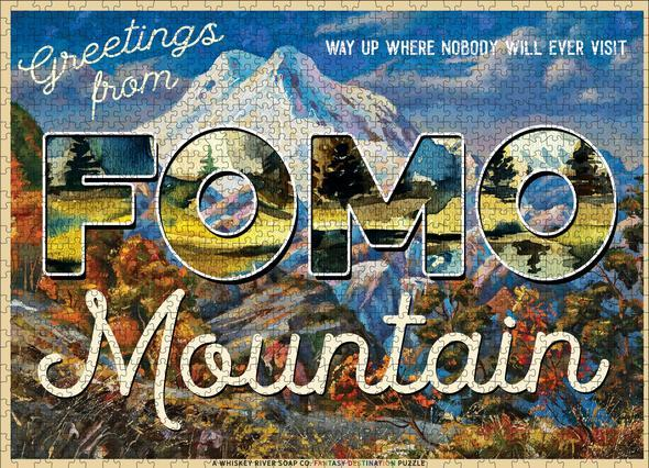 WHISKEY RIVER SOAP CO - Greetings from FOMO Mountain Puzzle