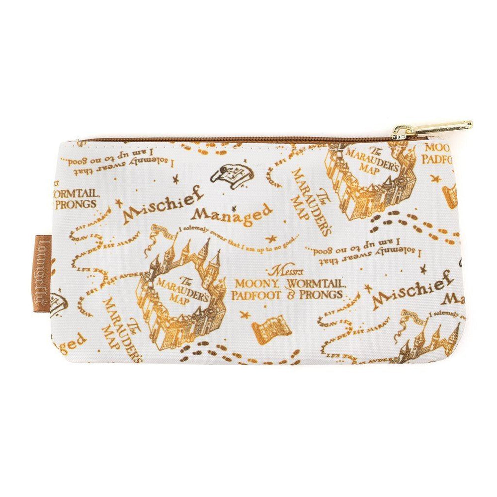 LOUNGEFLY Harry Potter Marauders Map Pouch