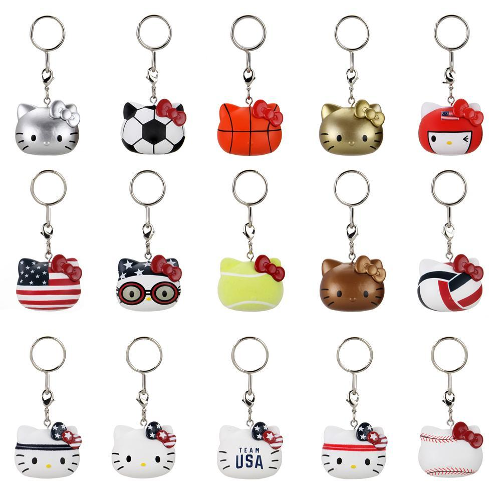 SANRIO Hello Kitty Team USA Keychain Blind Box
