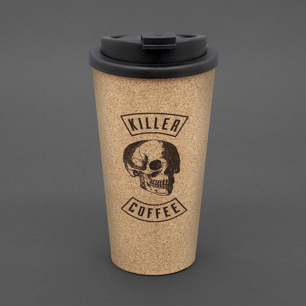LUCKIES Killer Coffee Reusable Coffee Cup