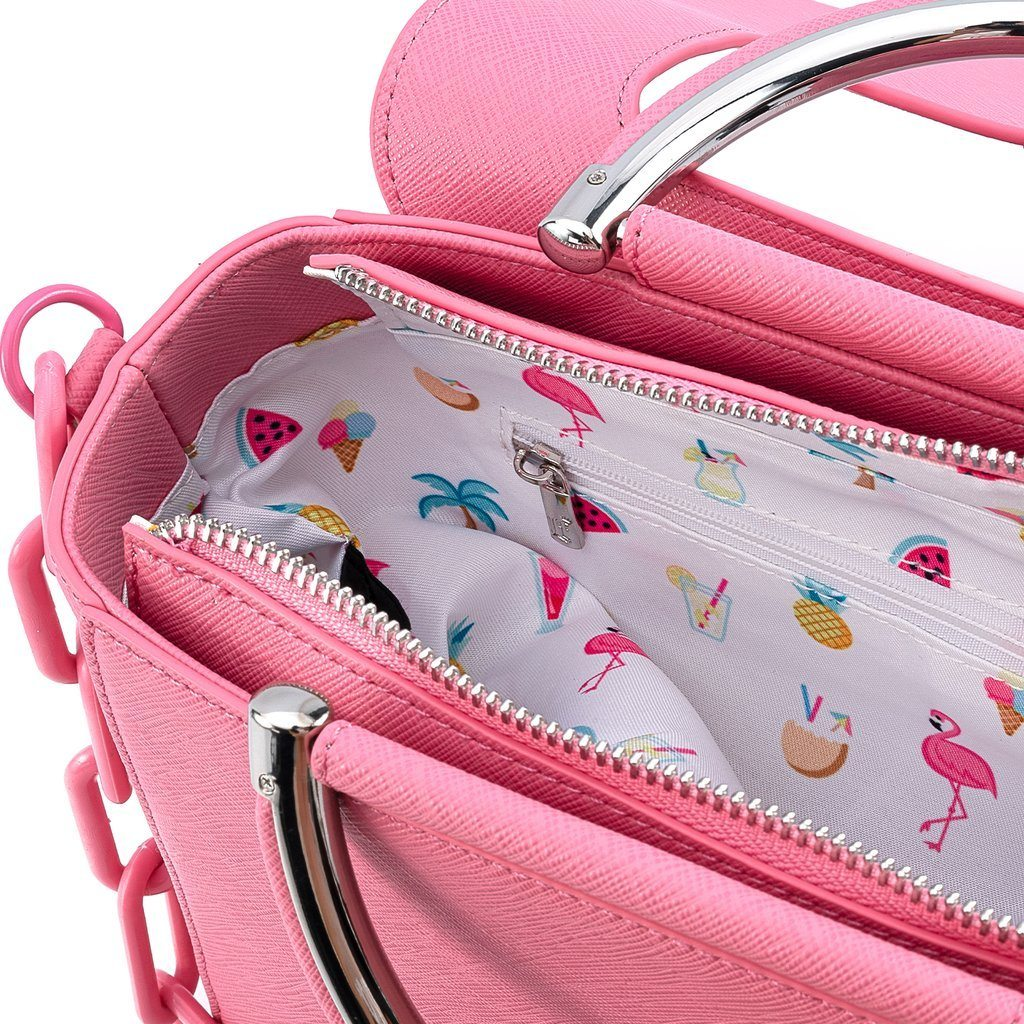 LOUNGEFLY x POOL PARTY Flamingo Crossbody