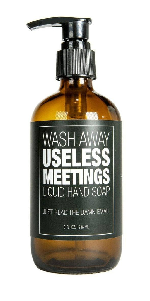 WHISKEY RIVER SOAP CO - Useless Meetings Liquid Hand Soap