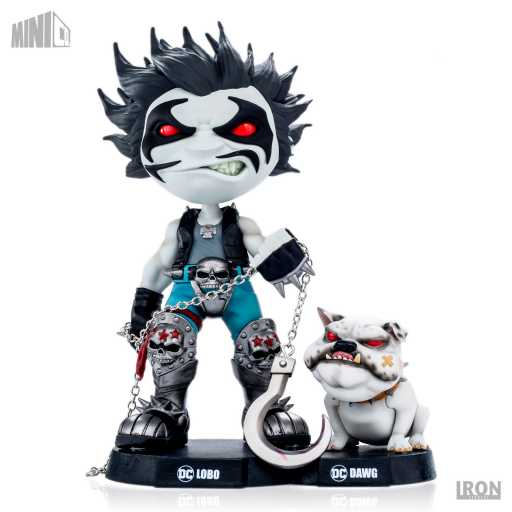 IRON STUDIOS MINI CO - DC Comics Lobo & Dawg Figure