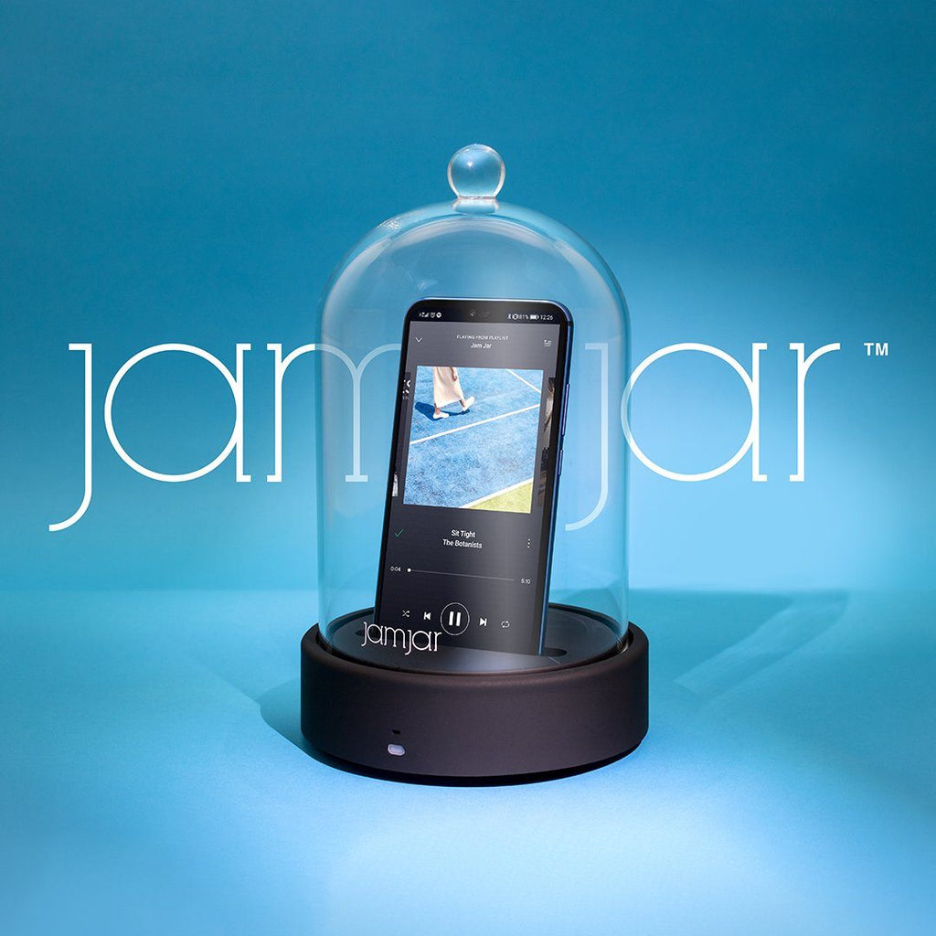 LUCKIES Jam Jar Bluetooth Speaker