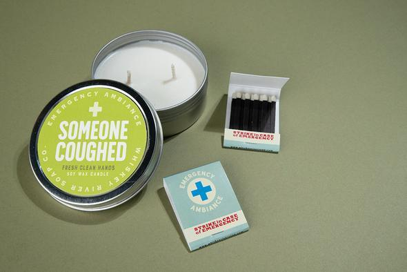 WHISKEY RIVER SOAP CO - Someone Coughed Emergency Ambience Travel Tin