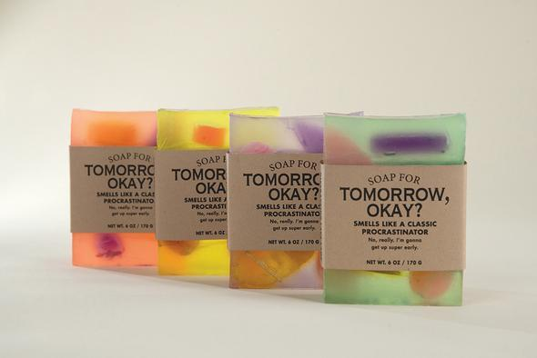 WHISKEY RIVER SOAP CO - Tomorrow, OK? Duo