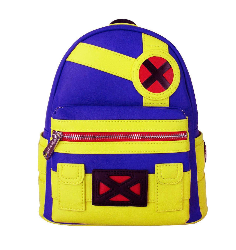 LOUNGEFLY Marvel Cyclops Mini Backpack