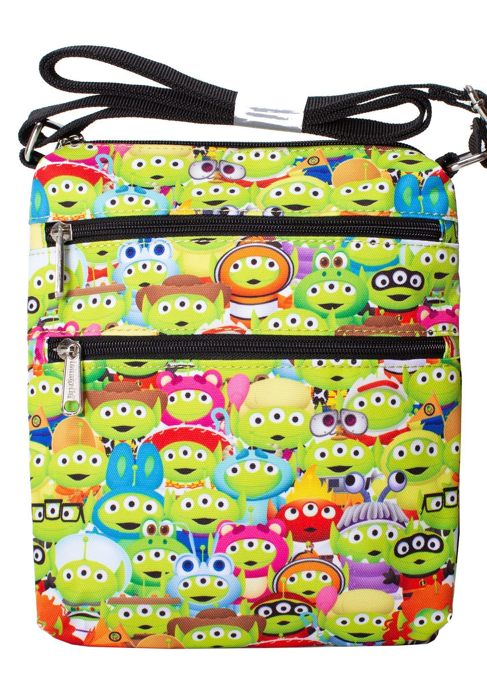 LOUNGEFLY x PIXAR Toy Story Alien Outfits Passport Bag