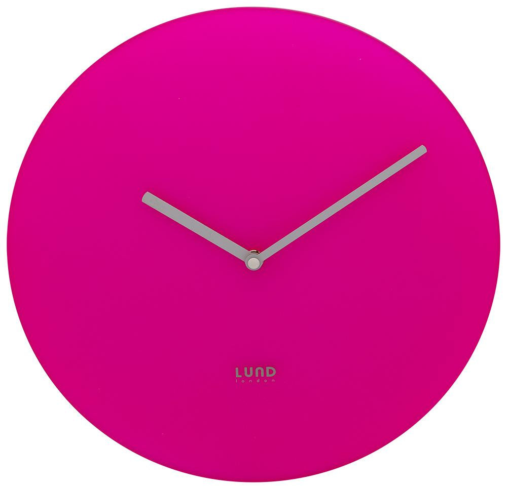 LUND LONDON Neon Pink/Blue Wall Clock
