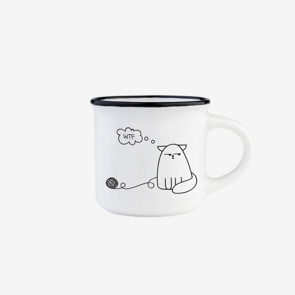 LEGAMI Dog & Cat - Espresso for 2 Mugs