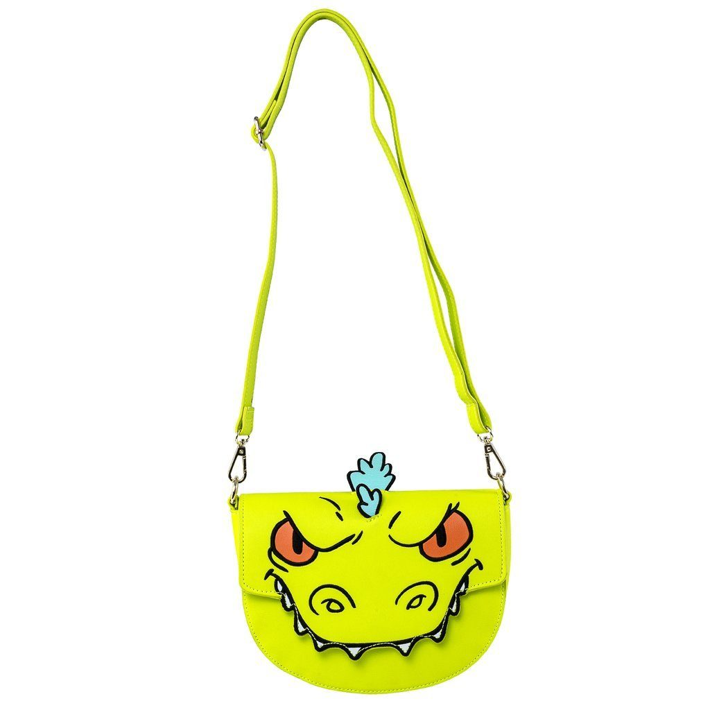 LOUNGEFLY x NICKELODEON Rugrats Reptar Crossbody/Waist Bag
