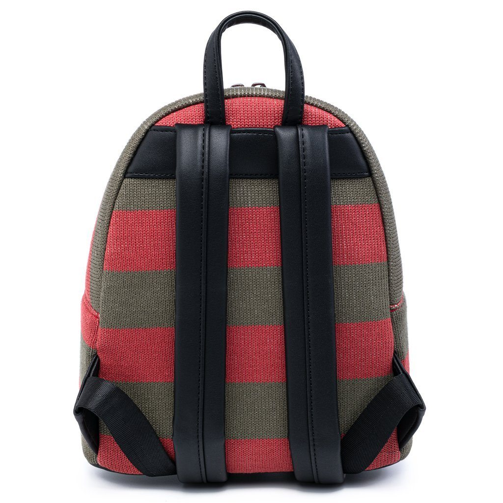 LOUNGEFLY x NIGHTMARE ON ELM STREET Freddy Sweater Mini Backpack