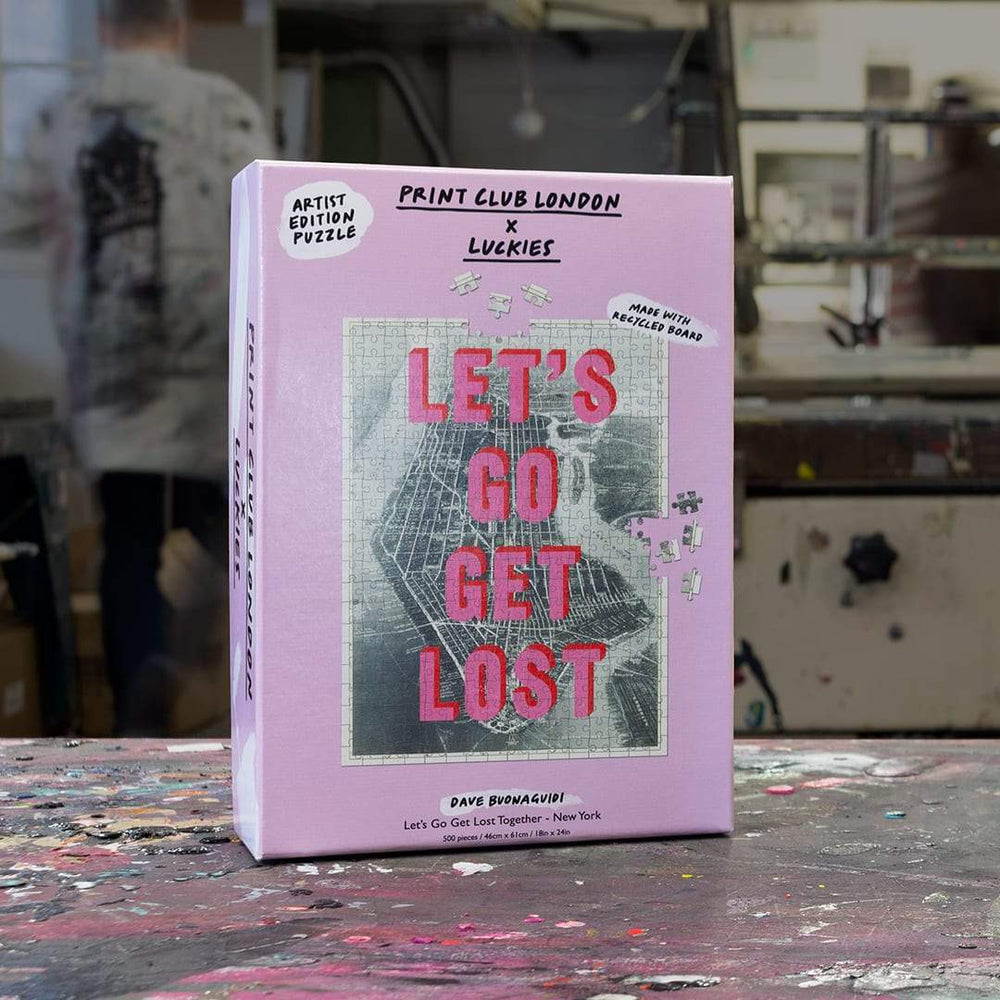 LUCKIES x Print Club London - Let's Go Get Lost NY Puzzle