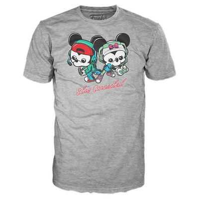 FUNKO POP! Tees : Gamer Mickey
