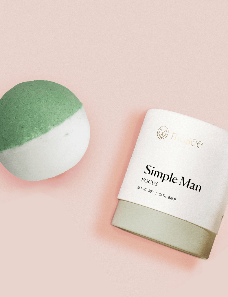 MUSEE BATH - Simple Man Bath Balm