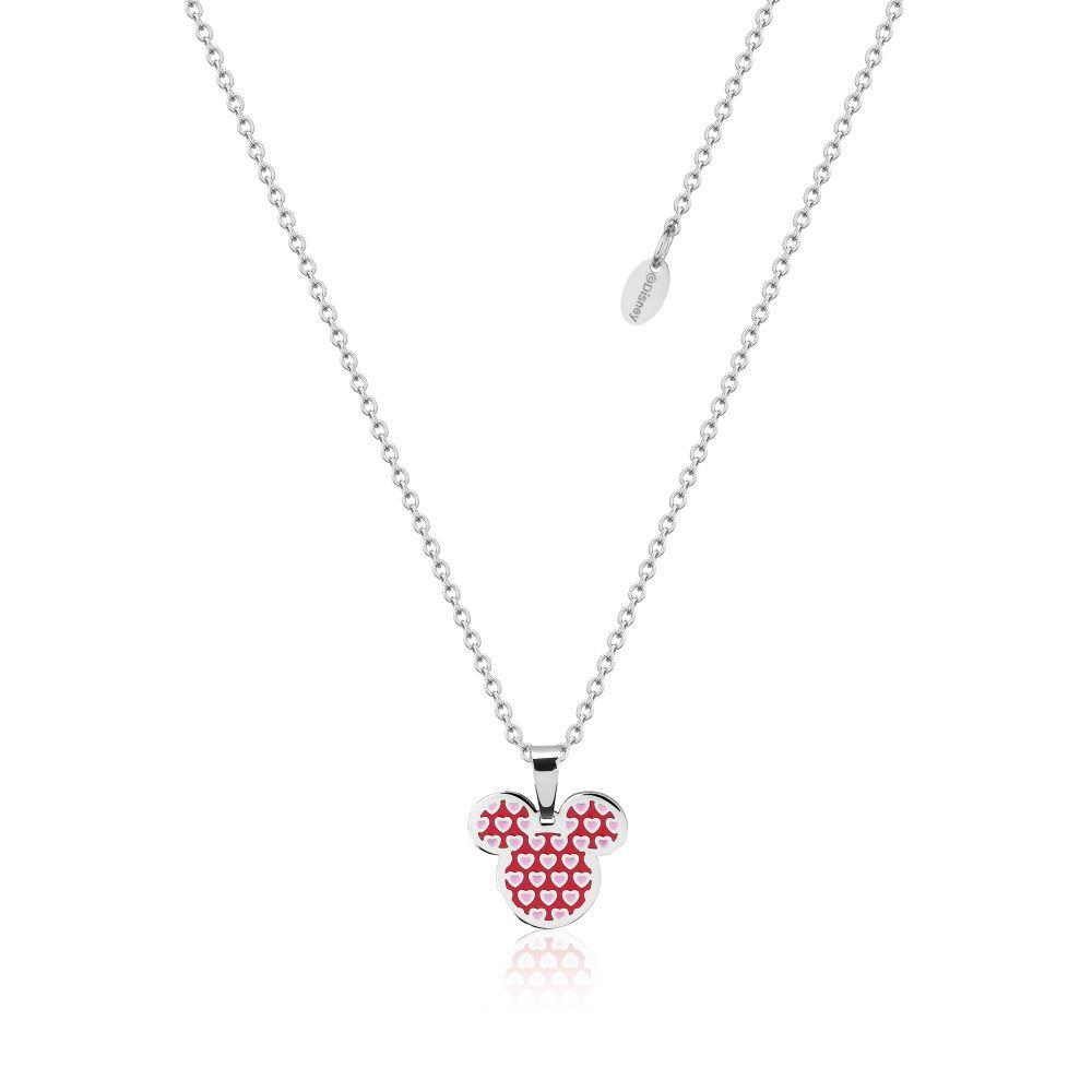 COUTURE KINGDOM x Disney Mickey Love Hearts Enamel Necklace