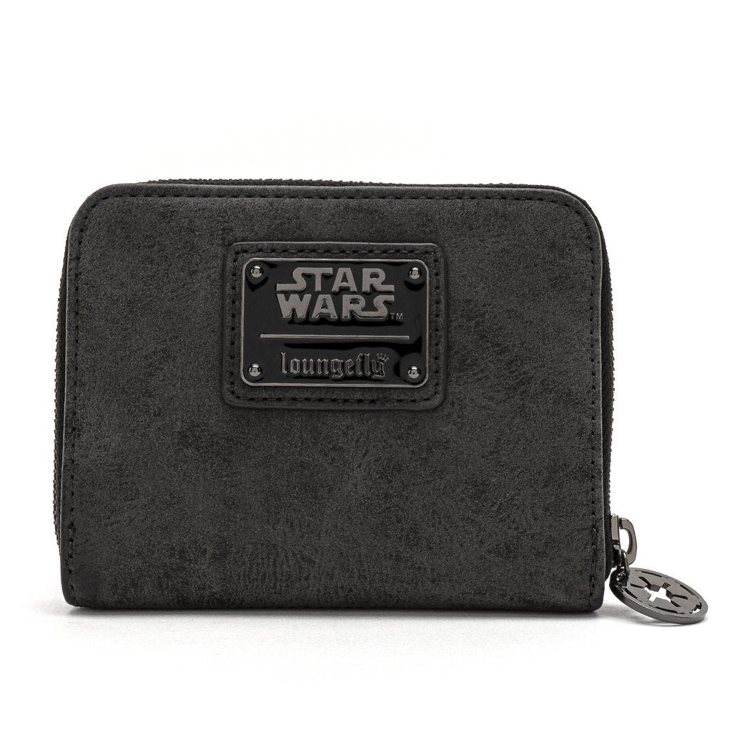 LOUNGEFLY x Star Wars Darth Vader Zip Around Wallet