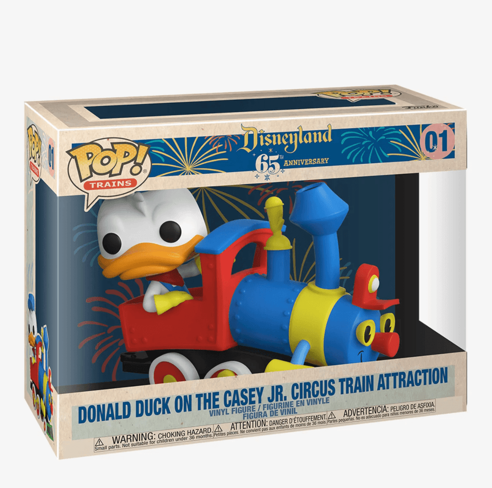 FUNKO POP! Disneyland 65th Anniversary Donald Duck On Casey Jr.