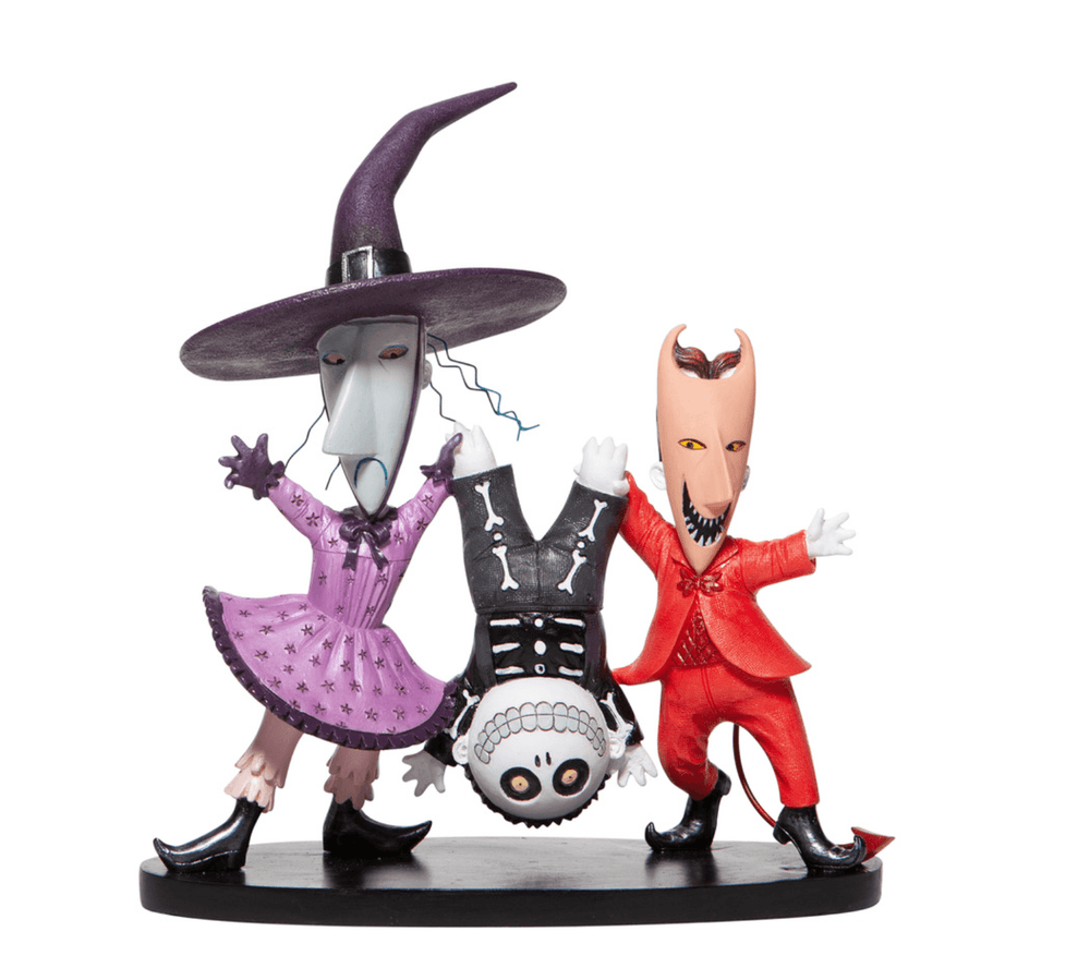 DISNEY Nightmare Before Christmas Lock Shock & Barrel