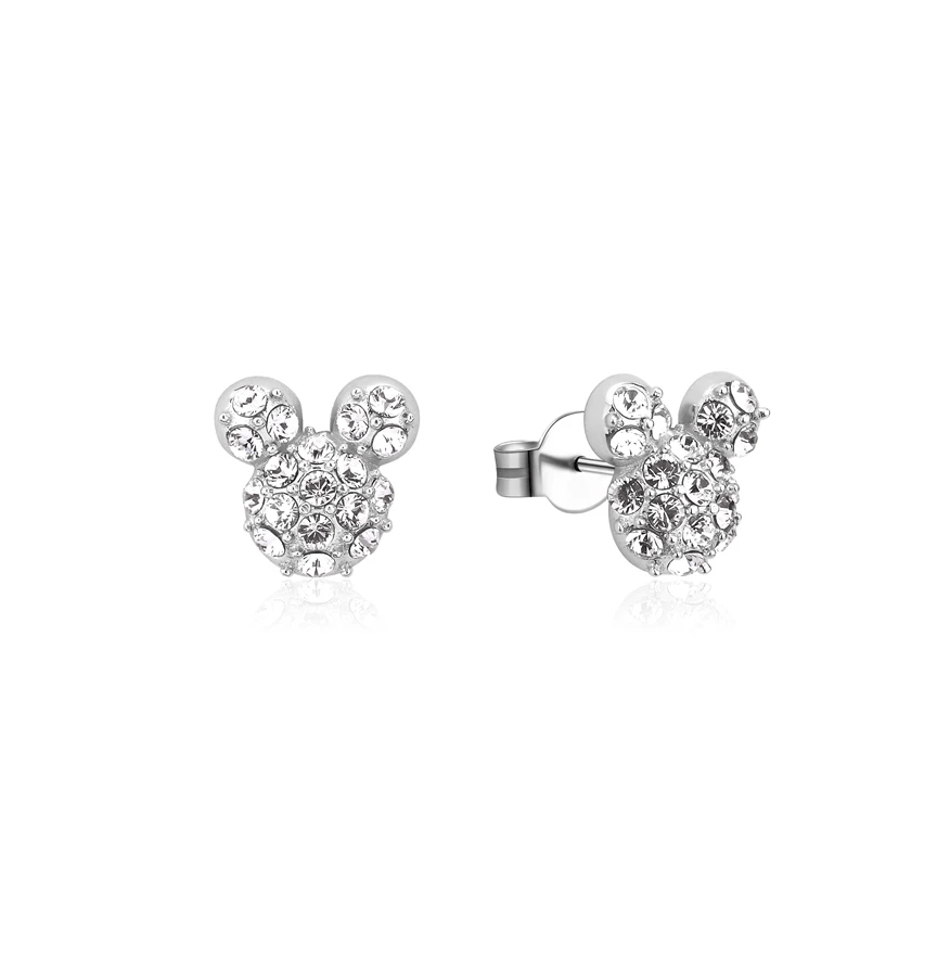 COUTURE KINGDOM x Disney Mickey Mouse Crystal Stud Earrings