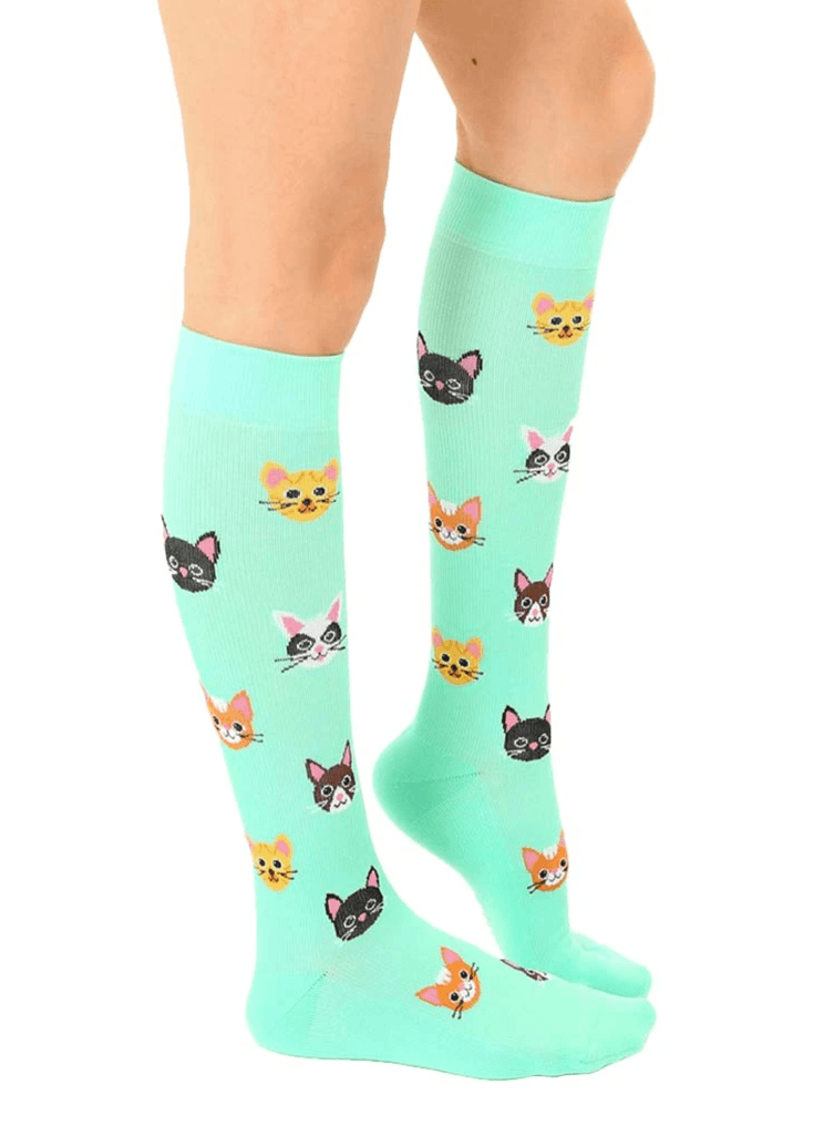 LIVING ROYAL Cat Compression Socks