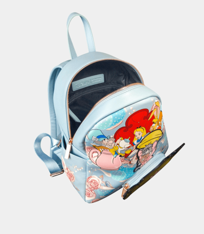 DANIELLE NICOLE x Disney Alice In Wonderland Tea Party Backpack