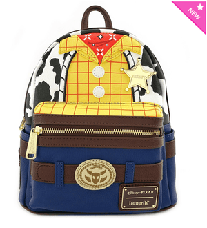 LOUNGEFLY Toy Story Woody Cosplay Mini Backpack