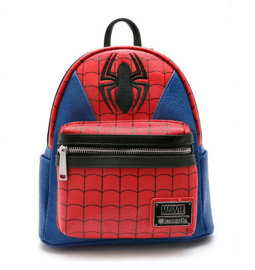 LOUNGEFLY Spiderman Suit Mini Backpack