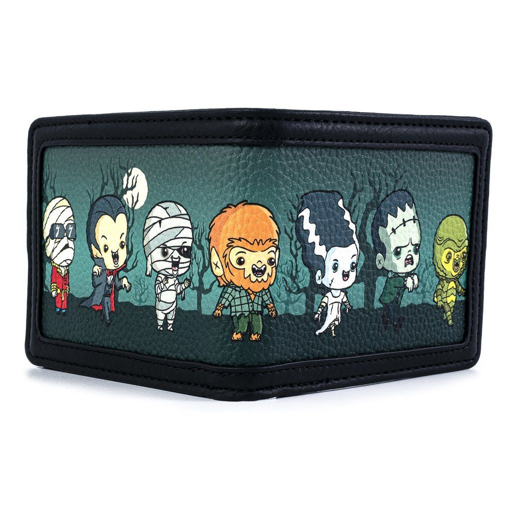 LOUNGEFLY x UNIVERSAL Monsters Chibi Wallet