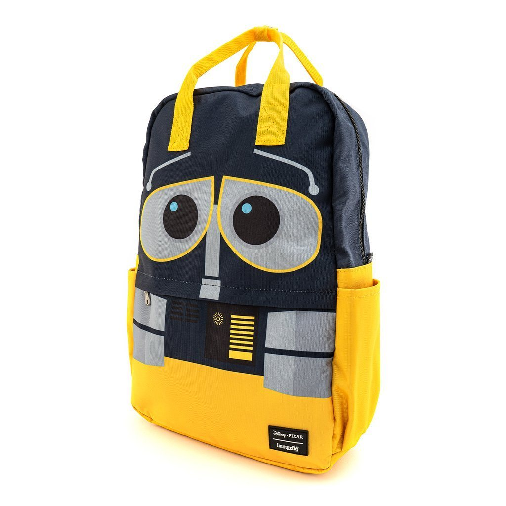 LOUNGEFLY x Disney Wall-E Nylon Square Backpack