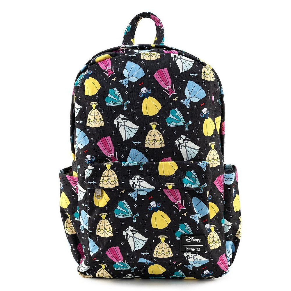 LOUNGEFLY Disney Princess Dresses Backpack