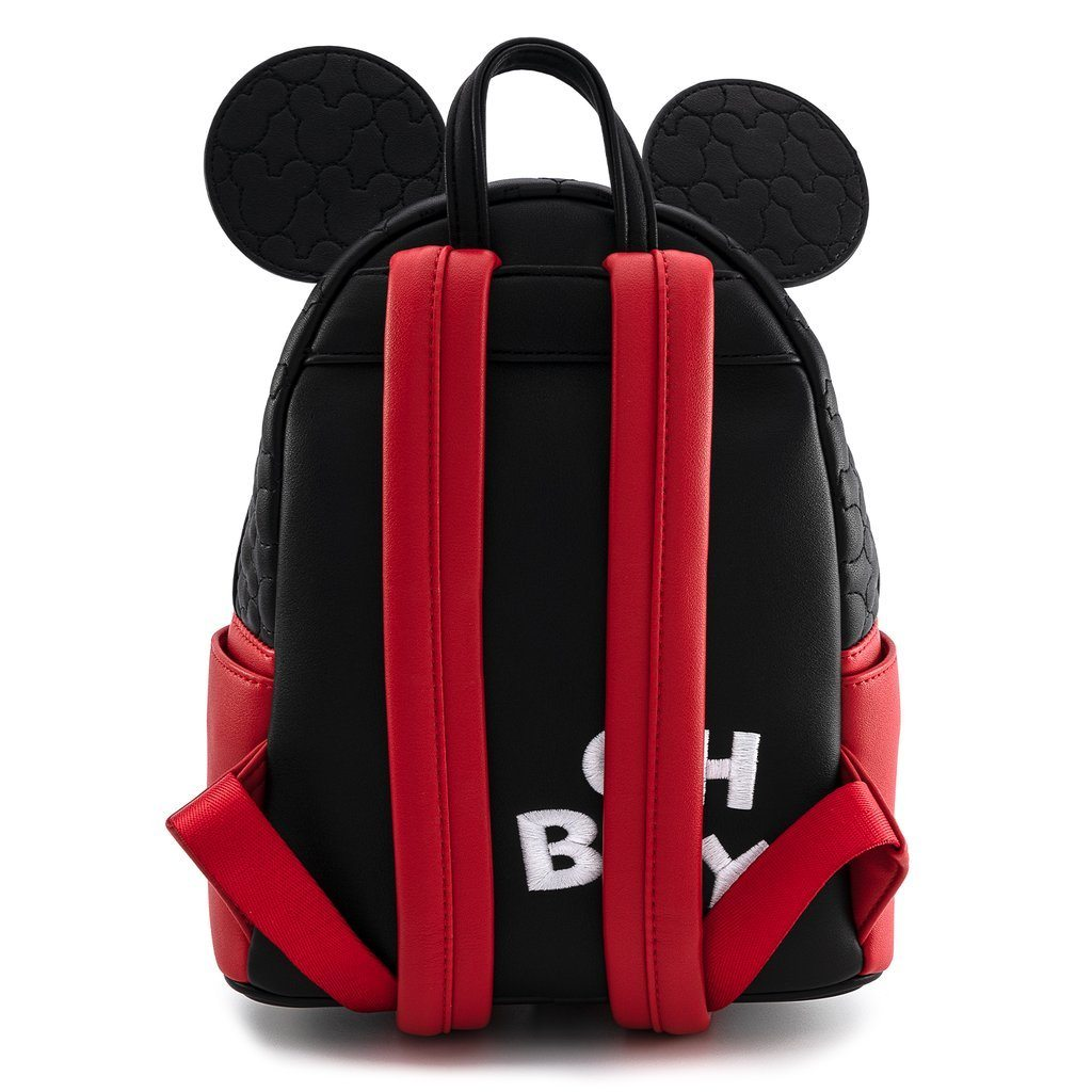 LOUNGEFLY x DISNEY Mickey Mouse Quilted Mini Backpack