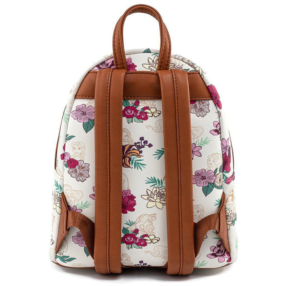 LOUNGEFLY x DISNEY Princess Floral Backpack