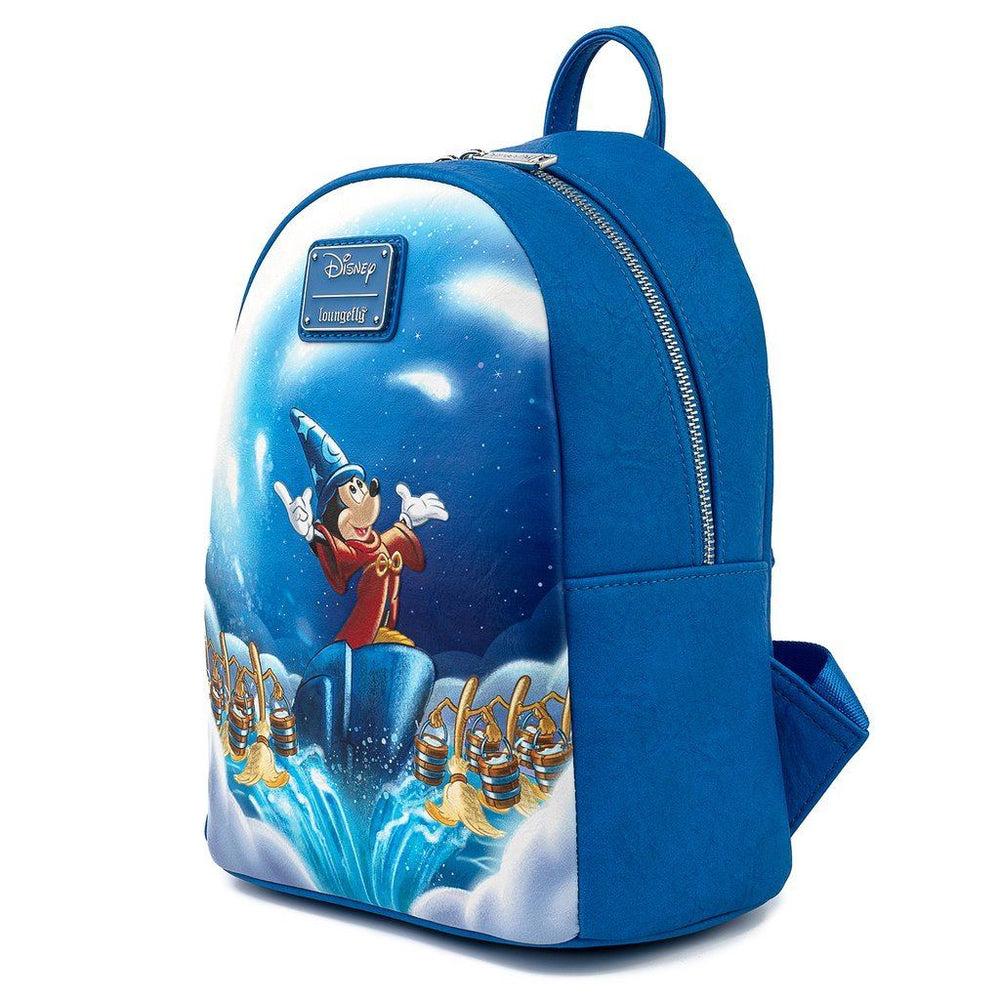 LOUNGEFLY x DISNEY Fantasia Sorcerer Mickey Mini Backpack