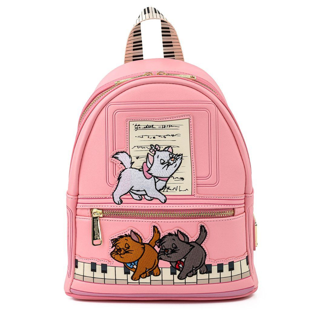 LOUNGEFLY x DISNEY The Aristocats Piano Mini Backpack