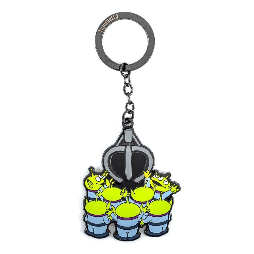 LOUNGEFLY Pixar Toy Story Aliens and Claw Keychain