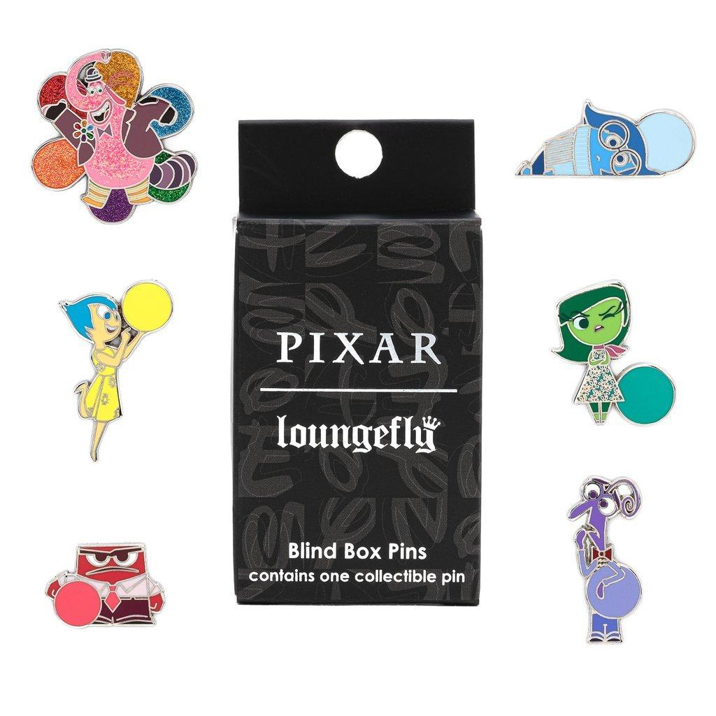 LOUNGEFLY x PIXAR Inside Out Enamel Pin Blind Boxes