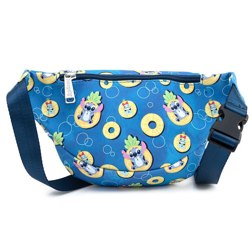LOUNGEFLY x DISNEY Lilo & Stitch Pineapple Floaty Fanny Pack