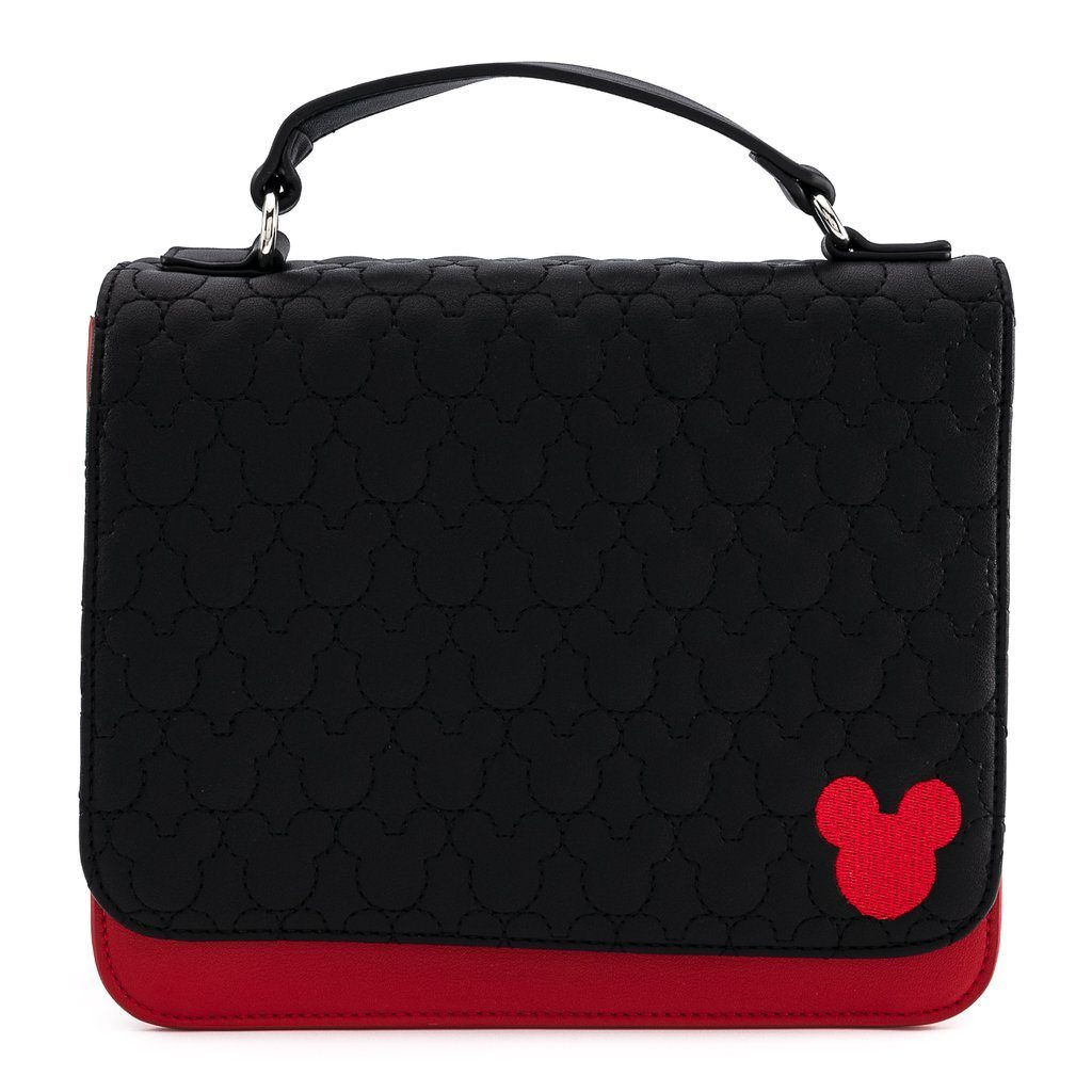 LOUNGEFLY x DISNEY Mickey Mouse Quilted Crossbody