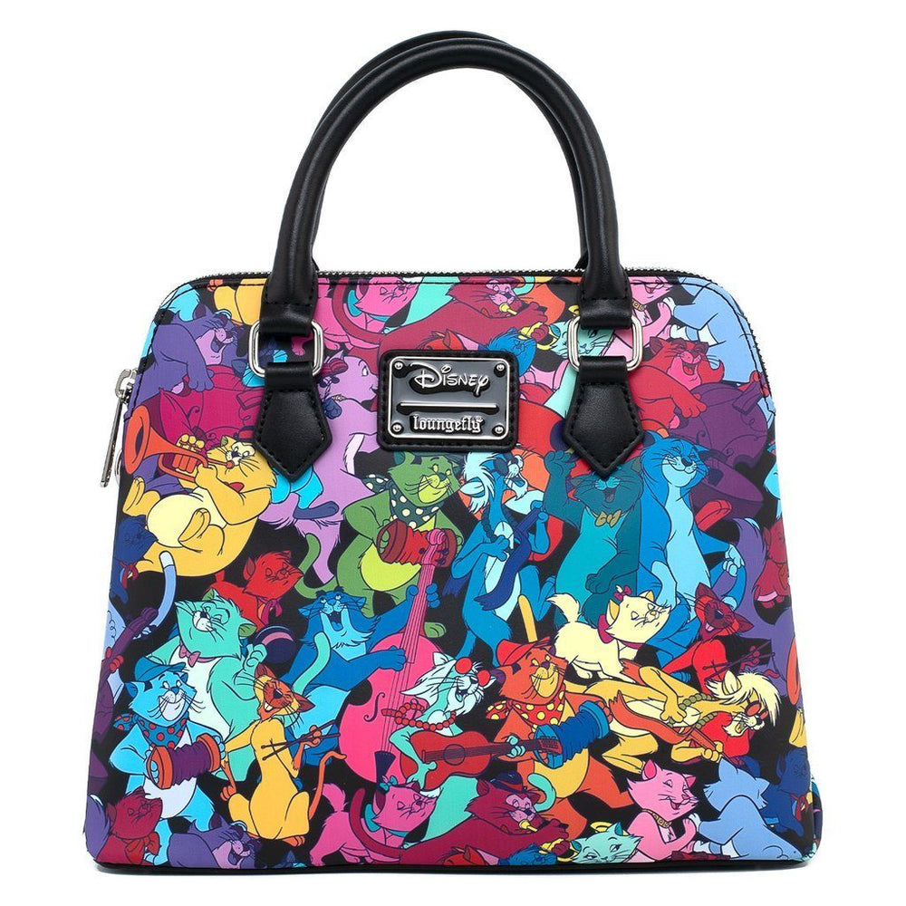LOUNGEFLY x DISNEY Aristocats Jazzy Cats Crossbody Bag