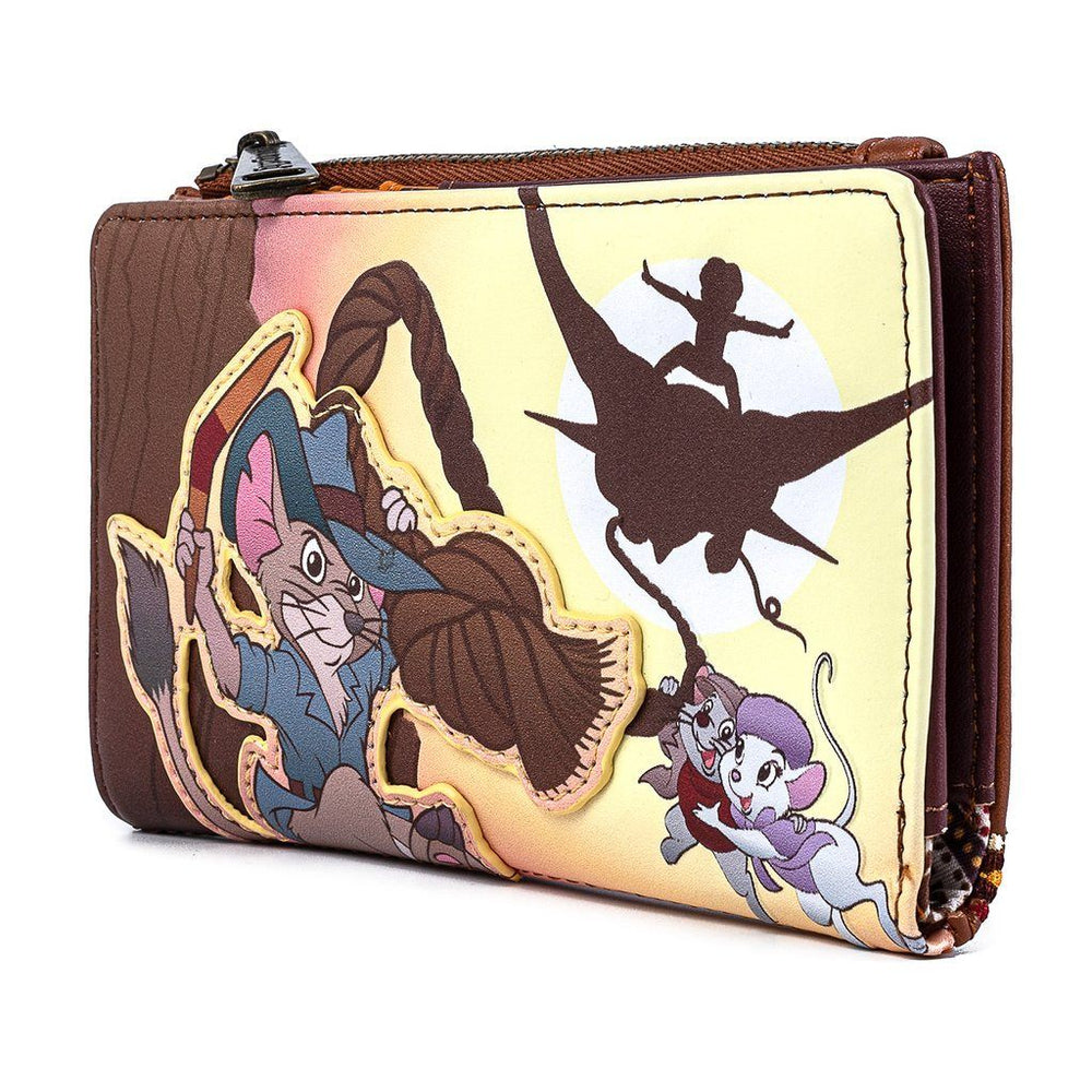 LOUNGEFLY x DISNEY The Rescuers Down Under Wallet