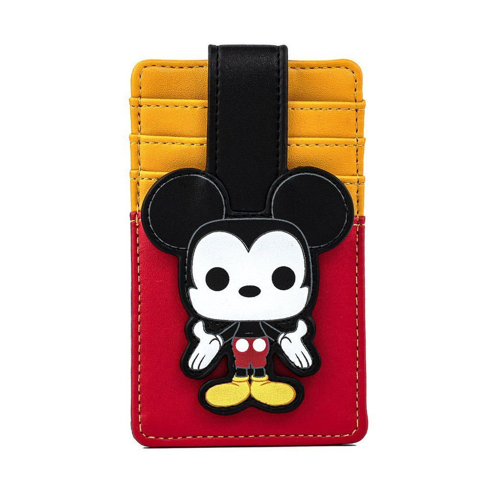 COMING SOON! LOUNGEFLY x DISNEY FUNKO POP! Mickey Mouse Cardholder