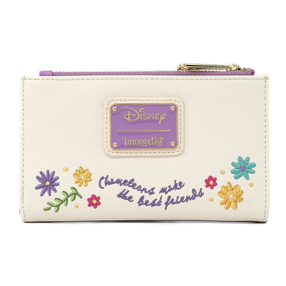 COMING SOON! LOUNGEFLY x DISNEY Tangled Pascal Flower Wallet
