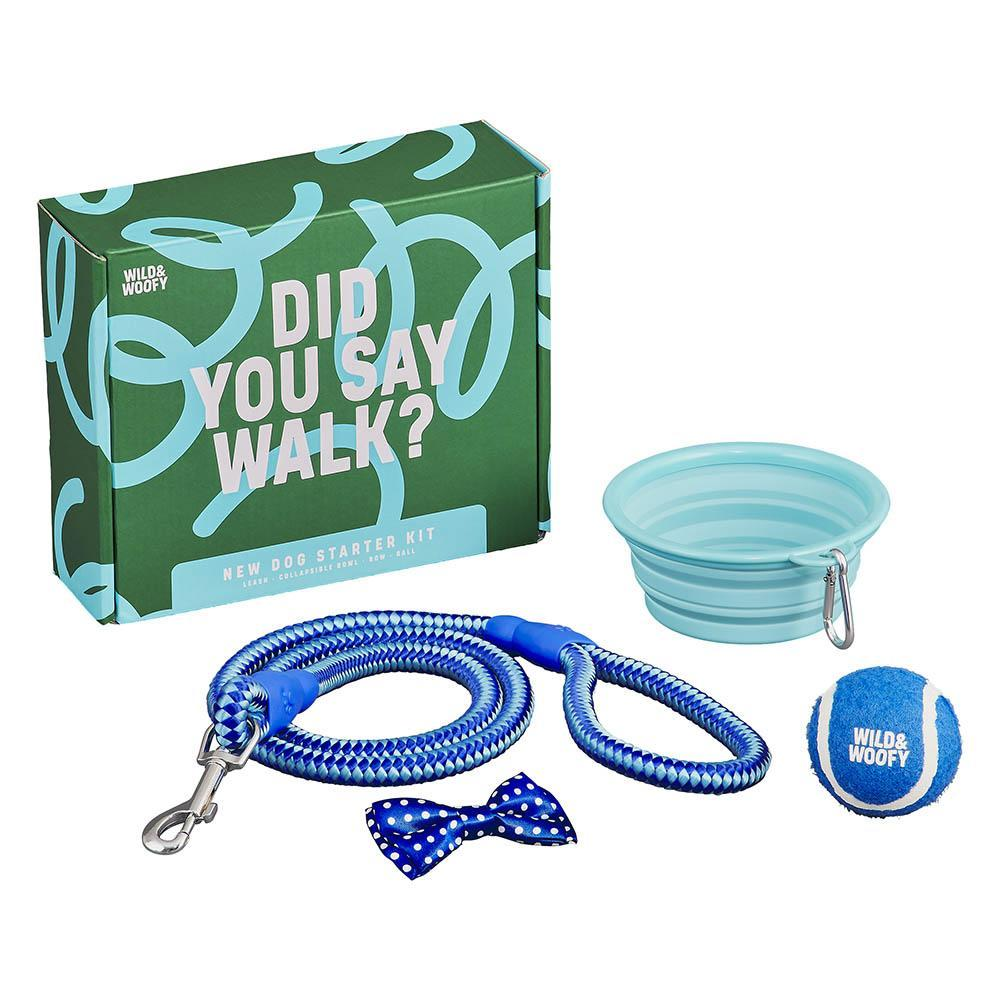 WILD + WOLF Wild & Woofy New Dog Starter Kit