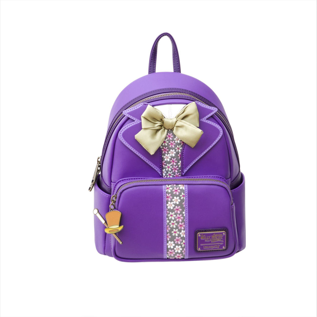 PREORDER - EIGHT3FIVE EXCLUSIVE - LOUNGEFLY x Willy Wonka Mini Backpack