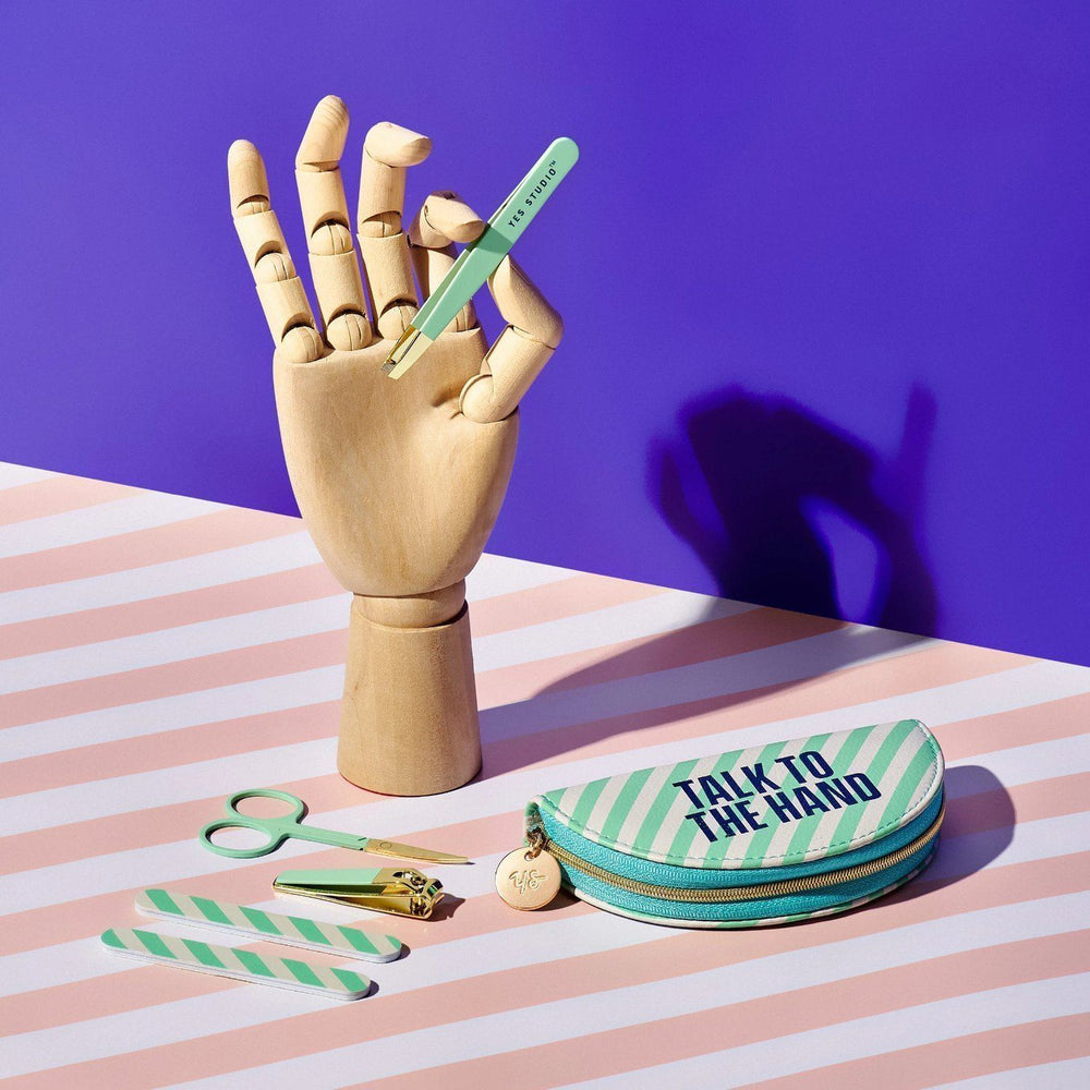 WILD + WOLF Yes Studio Talk to the Hand Manicure Kit